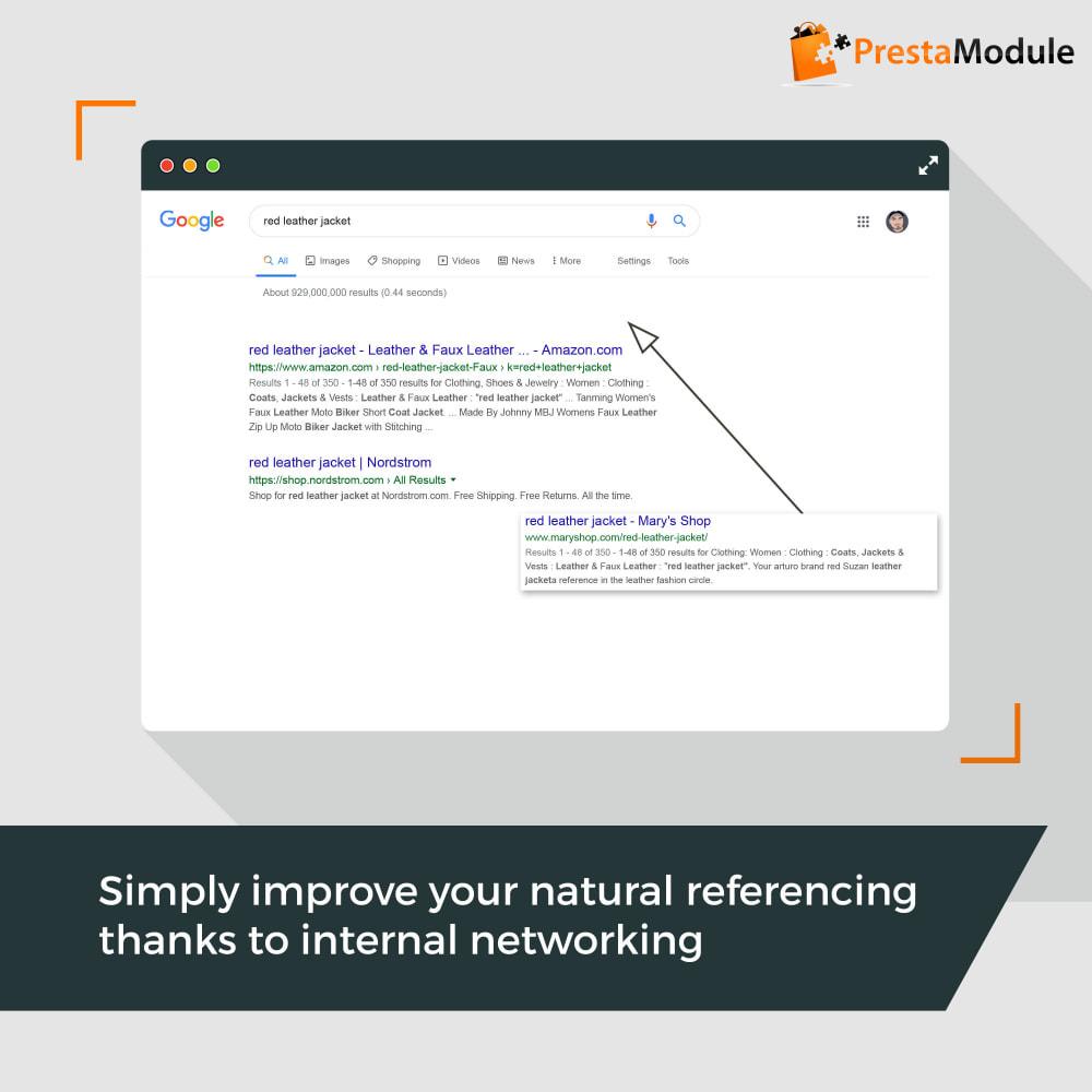 module - SEO (Pozycjonowanie naturalne) - SEO Internal Linking PRO - 1