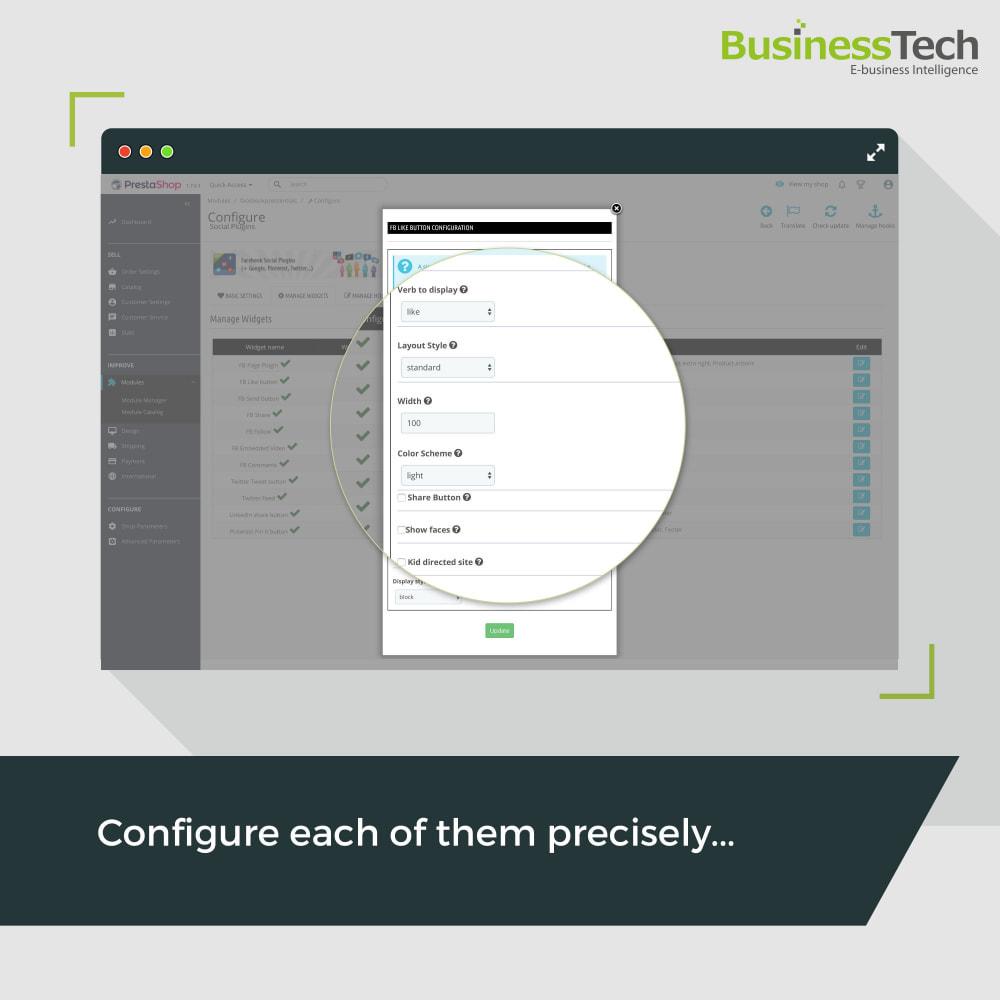 module - Кнопки 'Рассказать друзьям' и комментариев - Social Plugins - 3