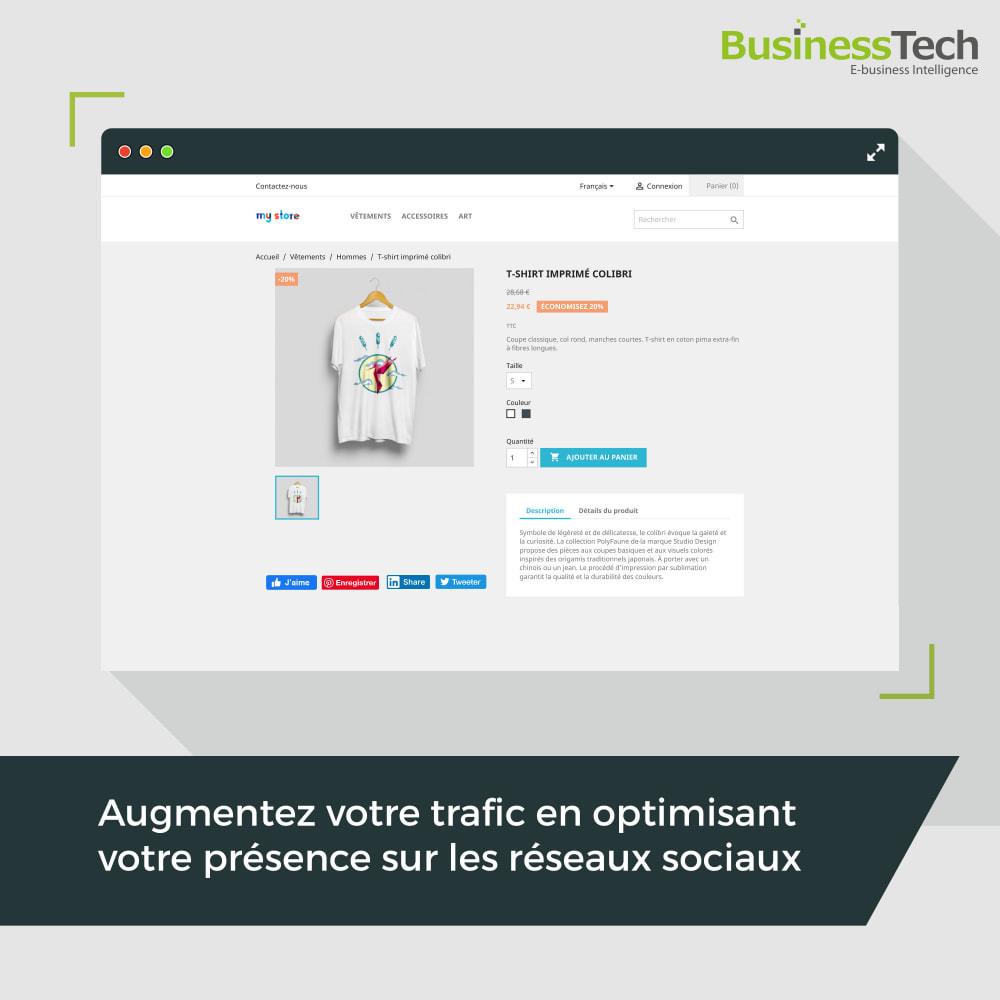 module - Boutons de Partage & Commentaires - Social Plugins - 1