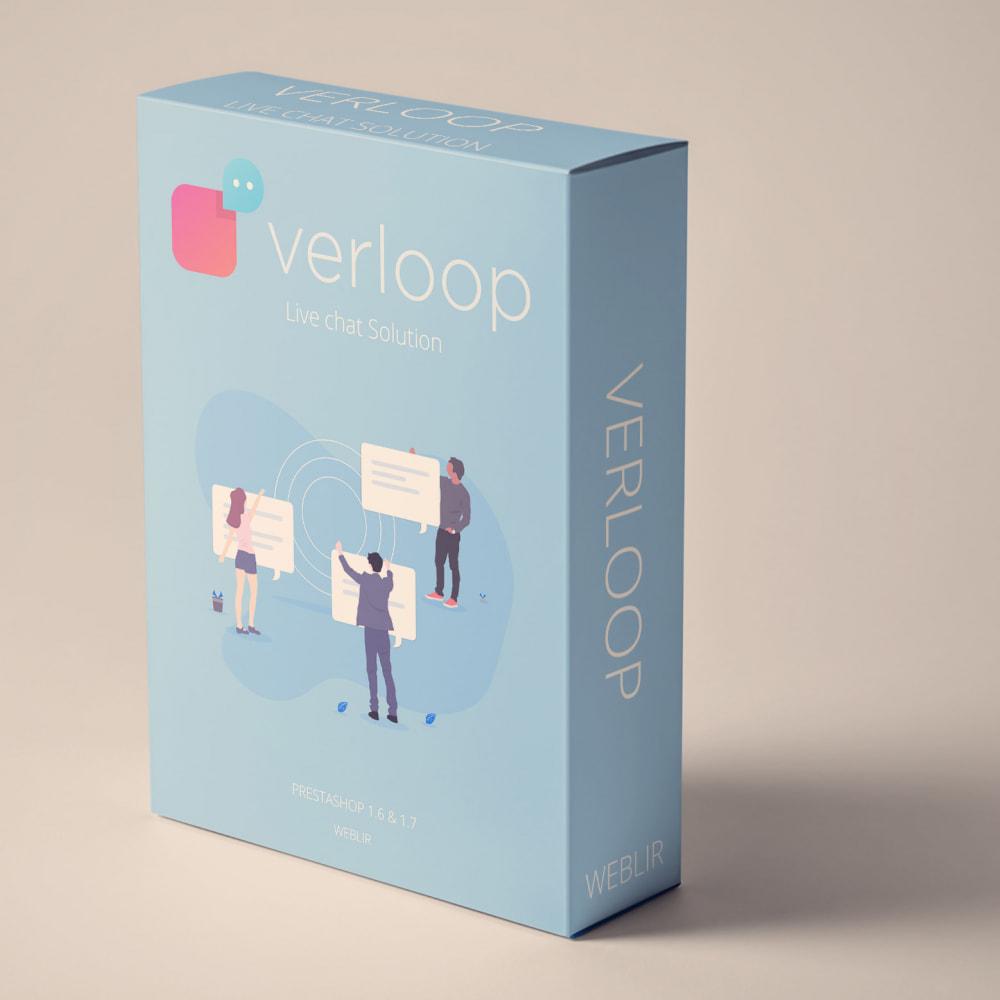 module - Ondersteuning & Online chat - Verloop - Free Plan Live Chat - 1