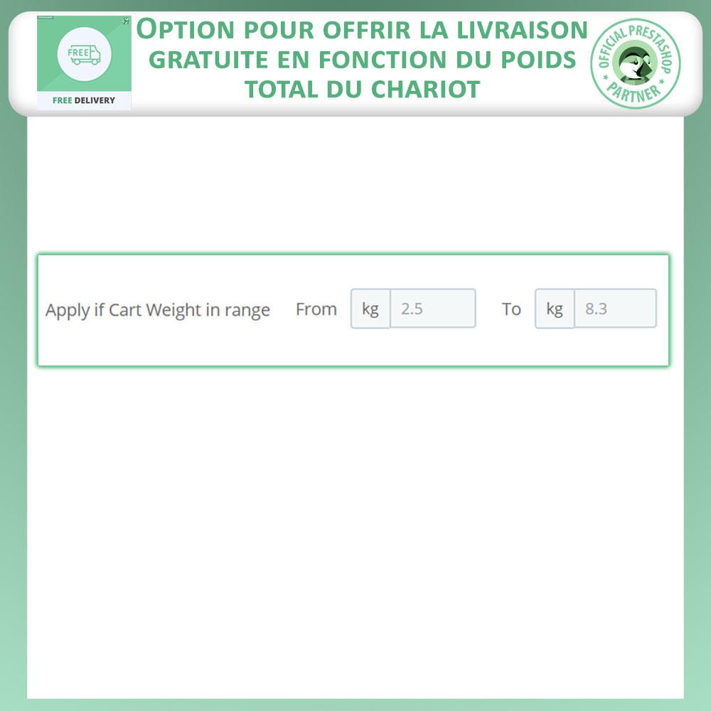 module - Frais de port - Livraison gratuite avancée - 6