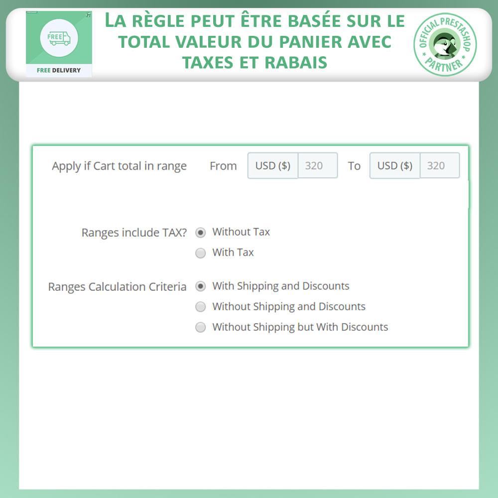 module - Frais de port - Livraison gratuite avancée - 5