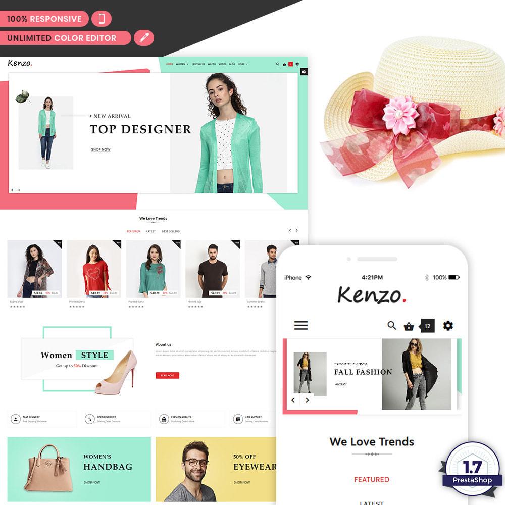 theme - Moda & Calzature - Kenzo - Stylo Fashion Shop - 1