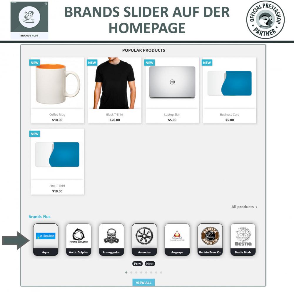module - Marken & Hersteller - Brands Plus – Marken- & Herstellerkarussell - 2