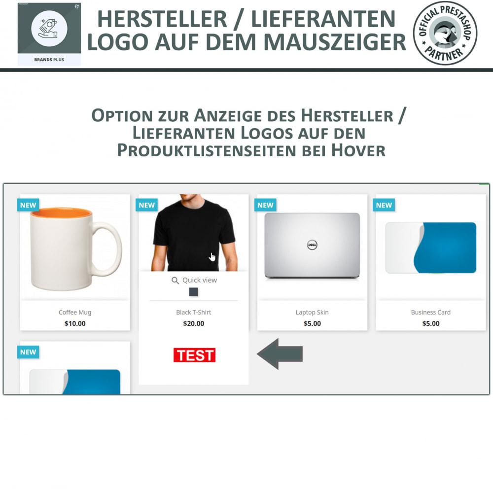 module - Marken & Hersteller - Brands Plus – Marken- & Herstellerkarussell - 4