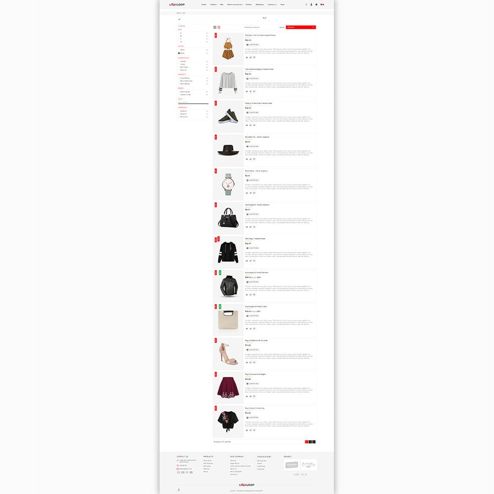 theme - Fashion & Shoes - LookLoop - Fashion & Lifestyle Store For Women & Men - 4