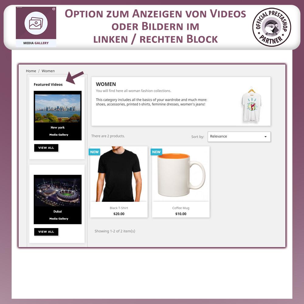 module - Digitale Produkt - Mediengalerie - Videogalerie - 6
