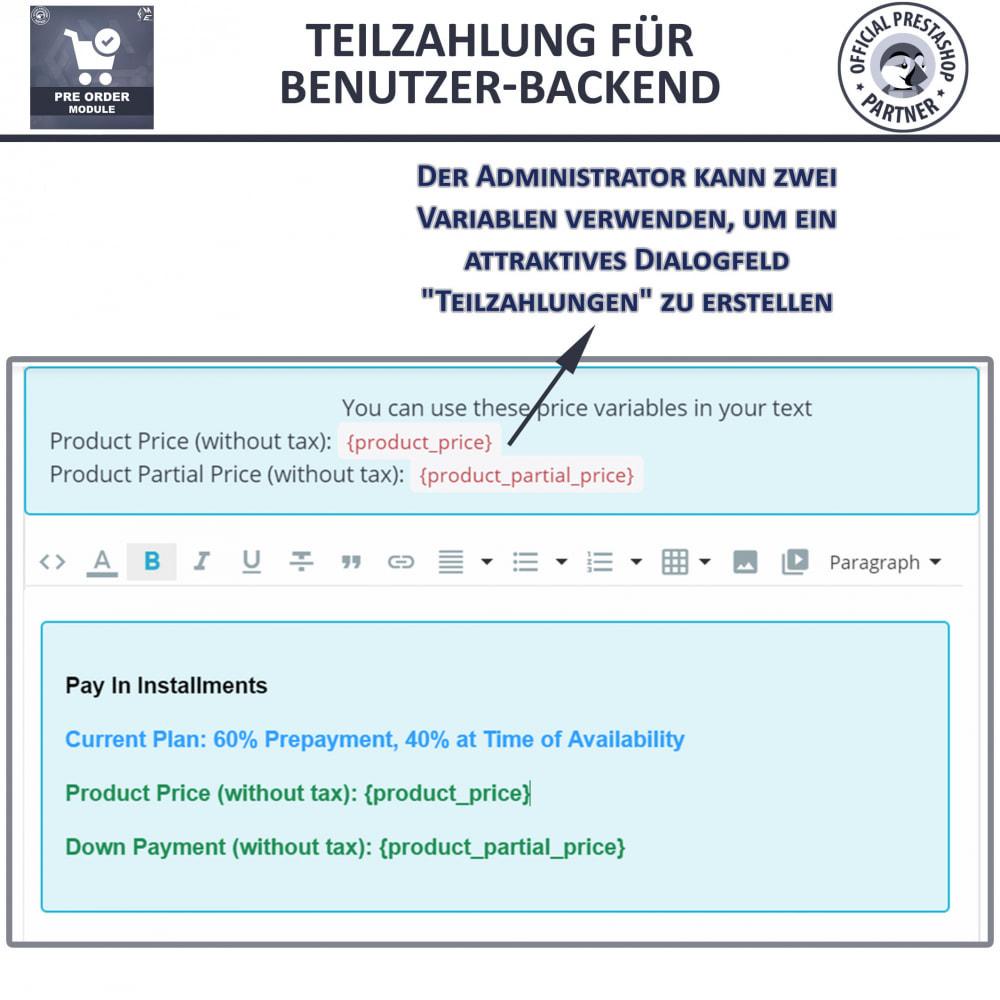 module - Anmeldung und Bestellvorgang - Vorbestellung und Lagerbenachrichtigung - 14