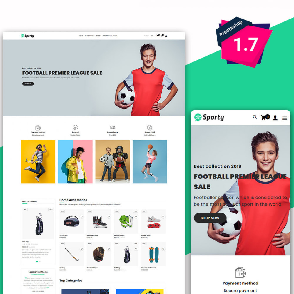 theme - Спорт и Путешествия - Sporty - The Sports, Travel & Fashion Base Store - 1