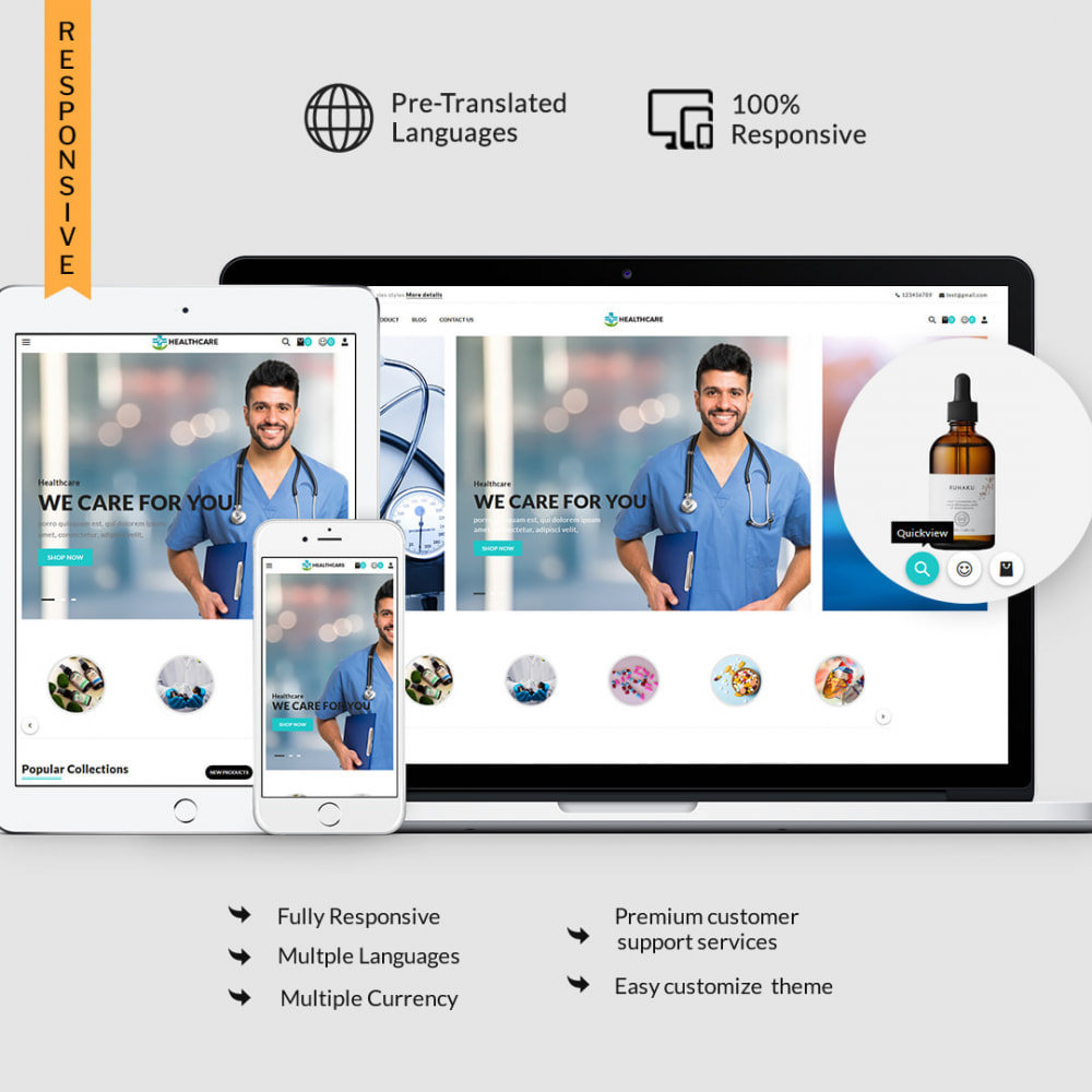 theme - Saúde & Beleza - Healthcare - The Medicine & Health Accessories Store - 2