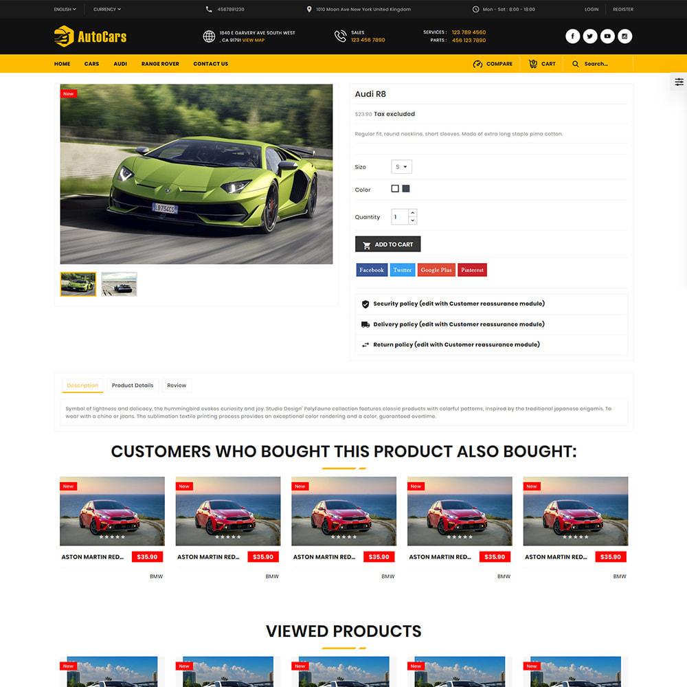 theme - Auto & Moto - AutoCars Autopart Store - 4