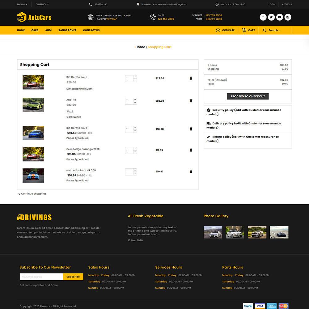 theme - Auto & Moto - AutoCars Autopart Store - 7