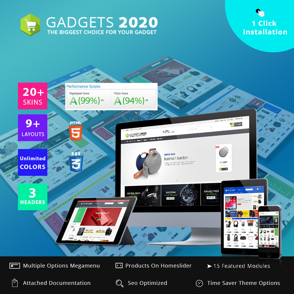 theme - Electrónica e High Tech - Gadgets 2020 - Best online multi store - 1