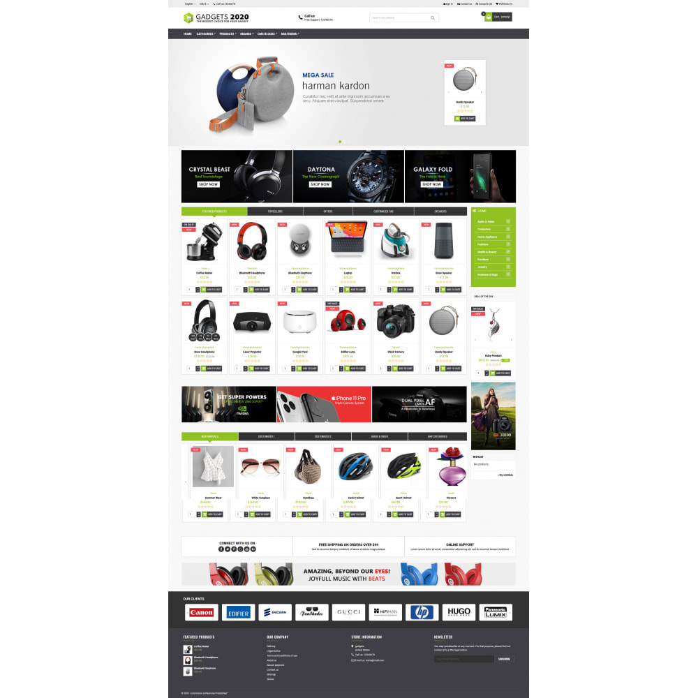 theme - Electrónica e High Tech - Gadgets 2020 - Best online multi store - 2