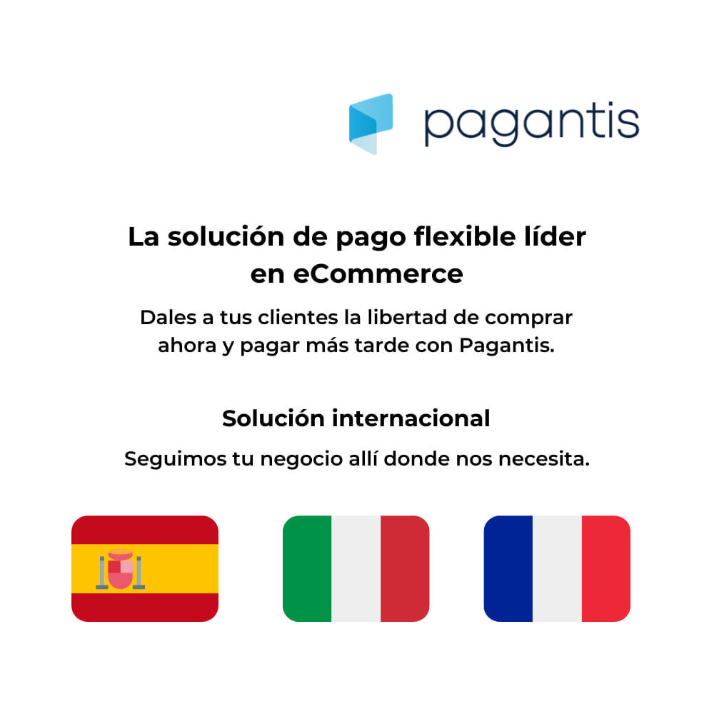 module - Otros métodos de pago - Pagantis - 1