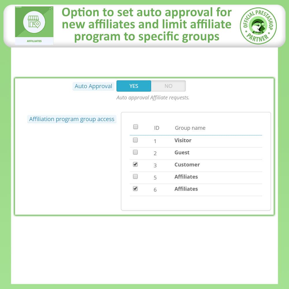 module - SEA SEM pago & Filiação - Affiliates Pro, Affiliate & Referral Program - 14