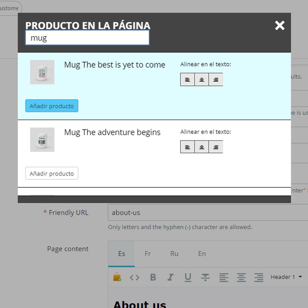 module - Productos en la página de inicio - Productos en las páginas CMS - 5