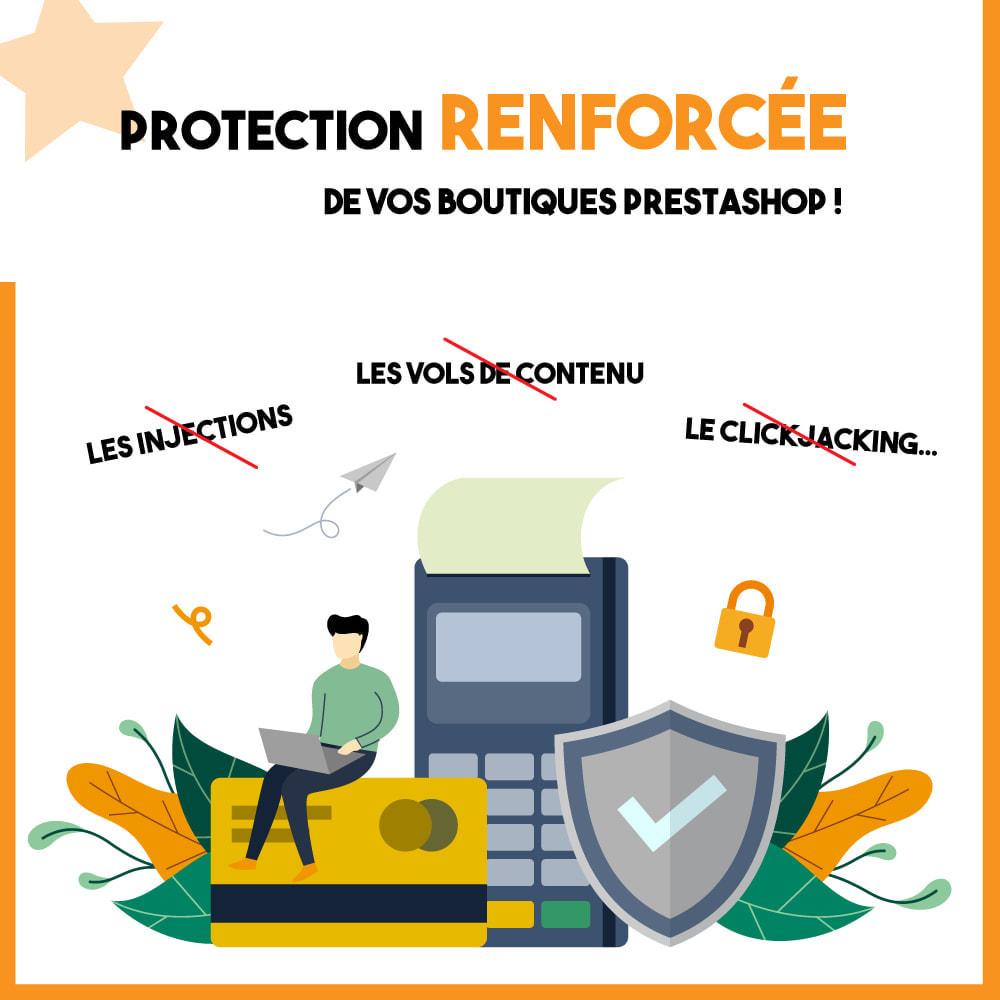 module - Sécurité & Accès - Protect My Shop / Protéger Ma Boutique - 1