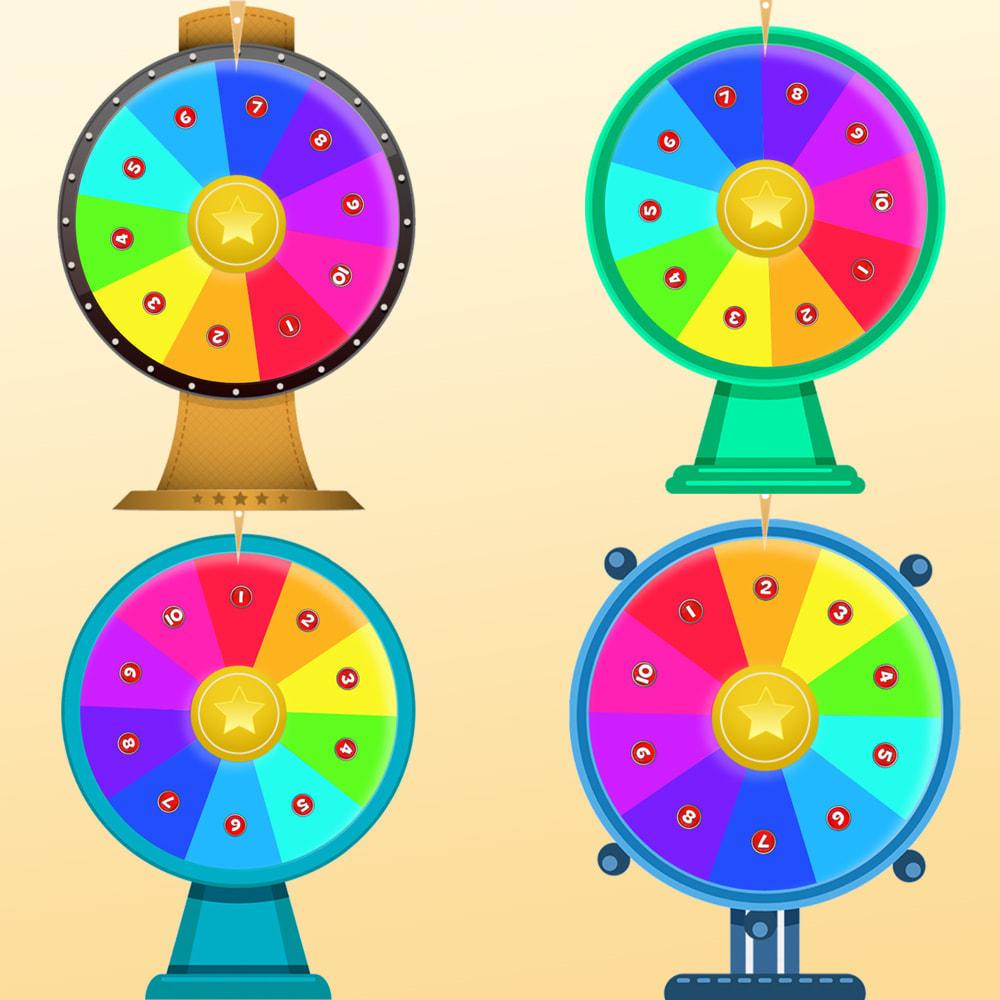 module - Jeux-concours - Roue de la Fortune, remises et cadeaux aux clients - 8