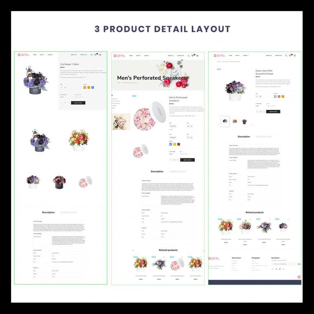 theme - Prezenty, Kwiaty & Uroczystości - Flower Store eCommerce Bootstrap 4 - 2