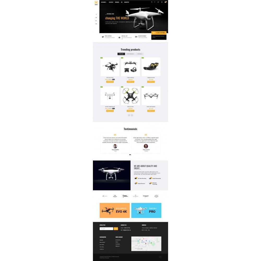 theme - Elektronik & High Tech - VP_Drone - Page Builder - 2