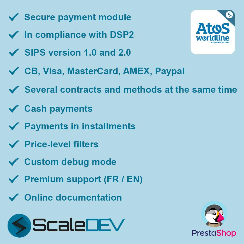 module - Creditcardbetaling of Walletbetaling - Worldline Atos (SIPS 1.0 & 2.0) - 1