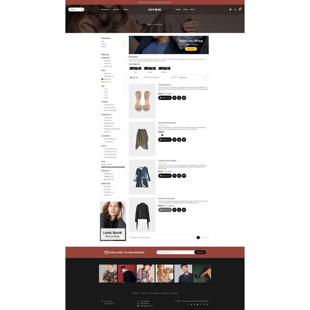 theme - Moda & Calçados - Arrow - Fashion Studio - 4