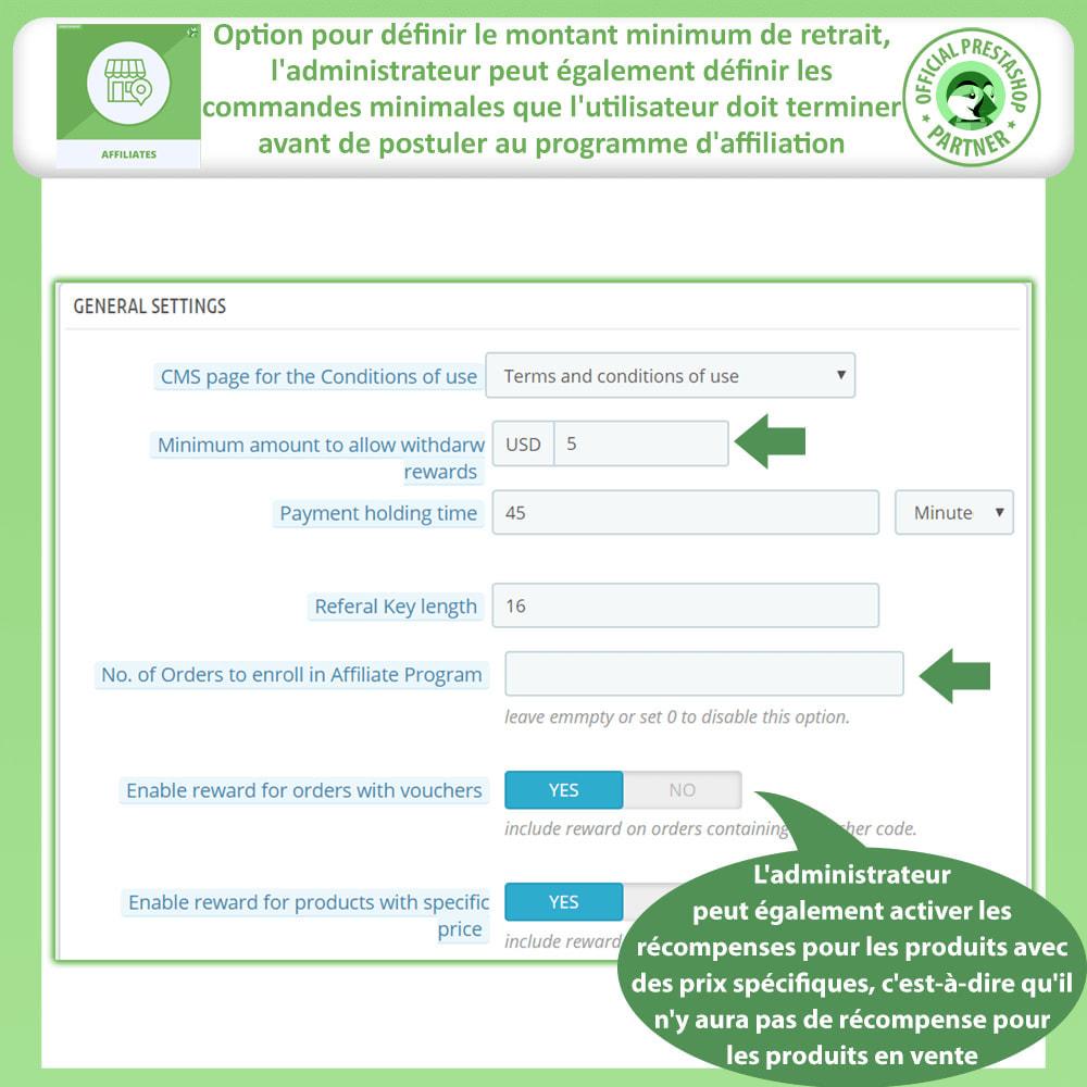 module - Référencement payant (SEA SEM) & Affiliation - Programme d'affiliation et de parrainage - 10