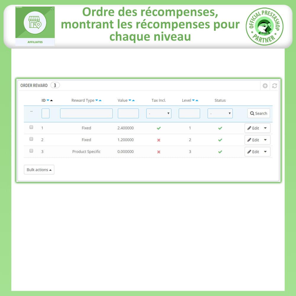 module - Référencement payant (SEA SEM) & Affiliation - Affiliés, Gestion de programme d'affiliation anticipée - 16