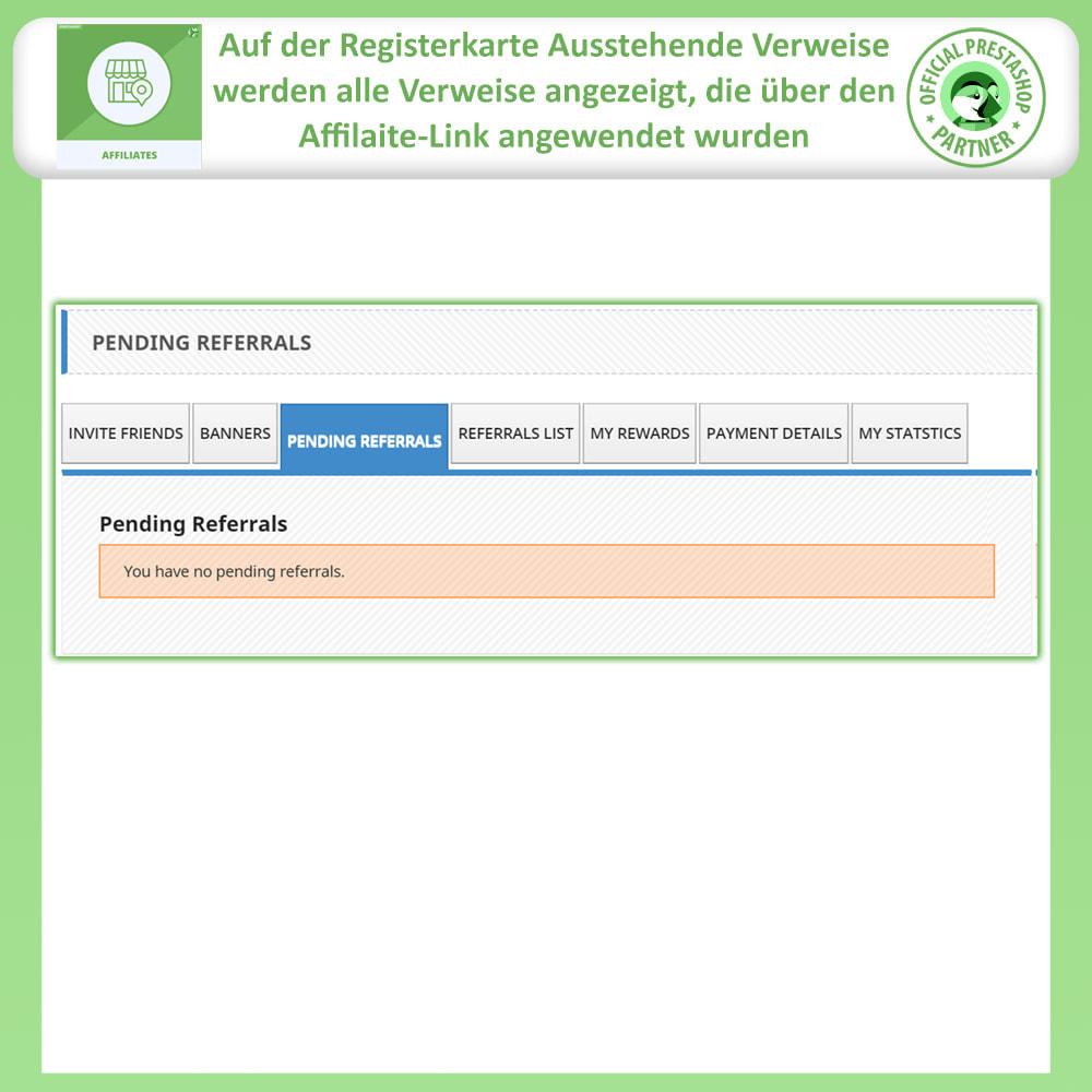 module - SEM SEA - Posicionamiento patrocinado & Afiliación - Programa de afiliados Pro, afiliados y referencias - 5