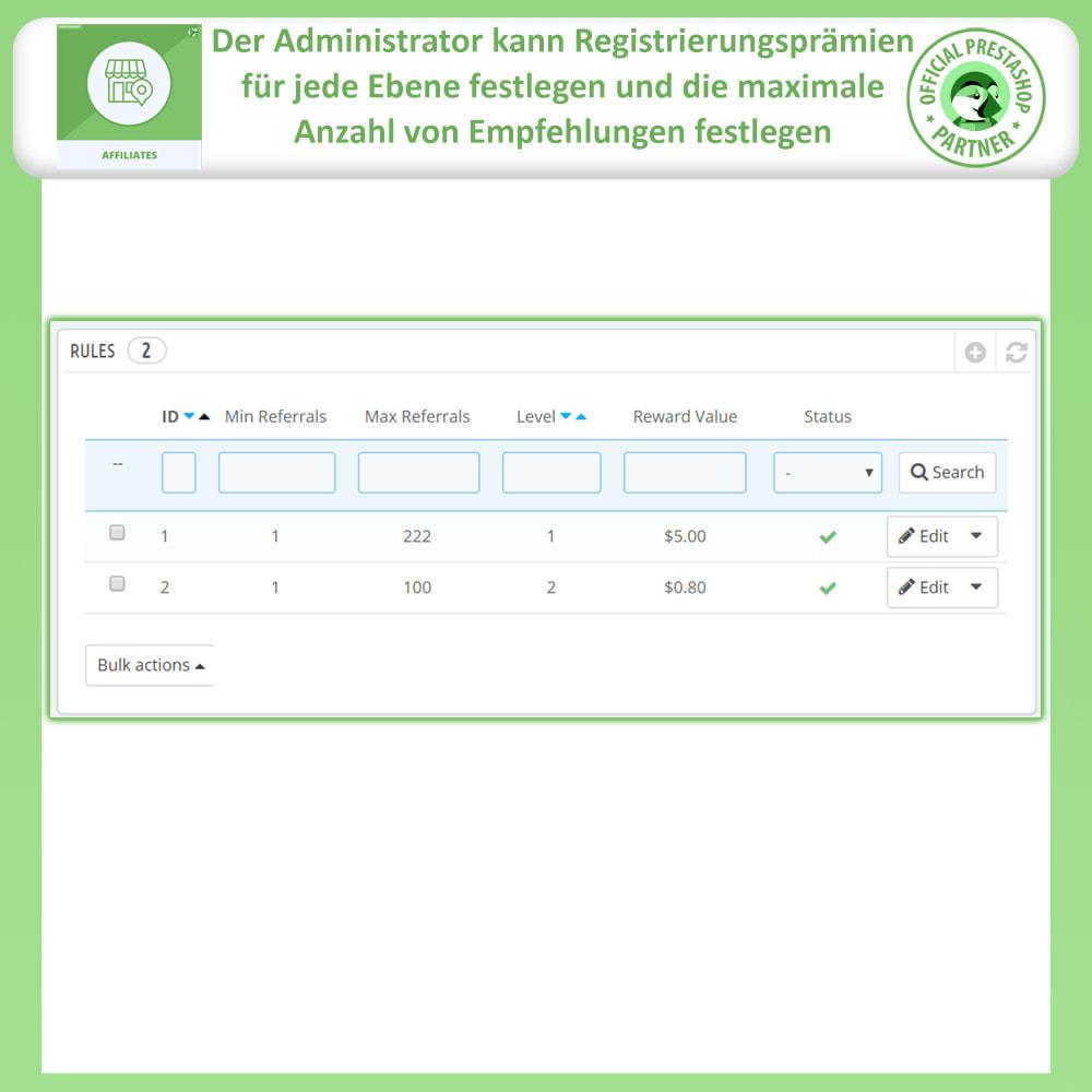 module - SEM SEA - Posicionamiento patrocinado & Afiliación - Programa de afiliados Pro, afiliados y referencias - 16