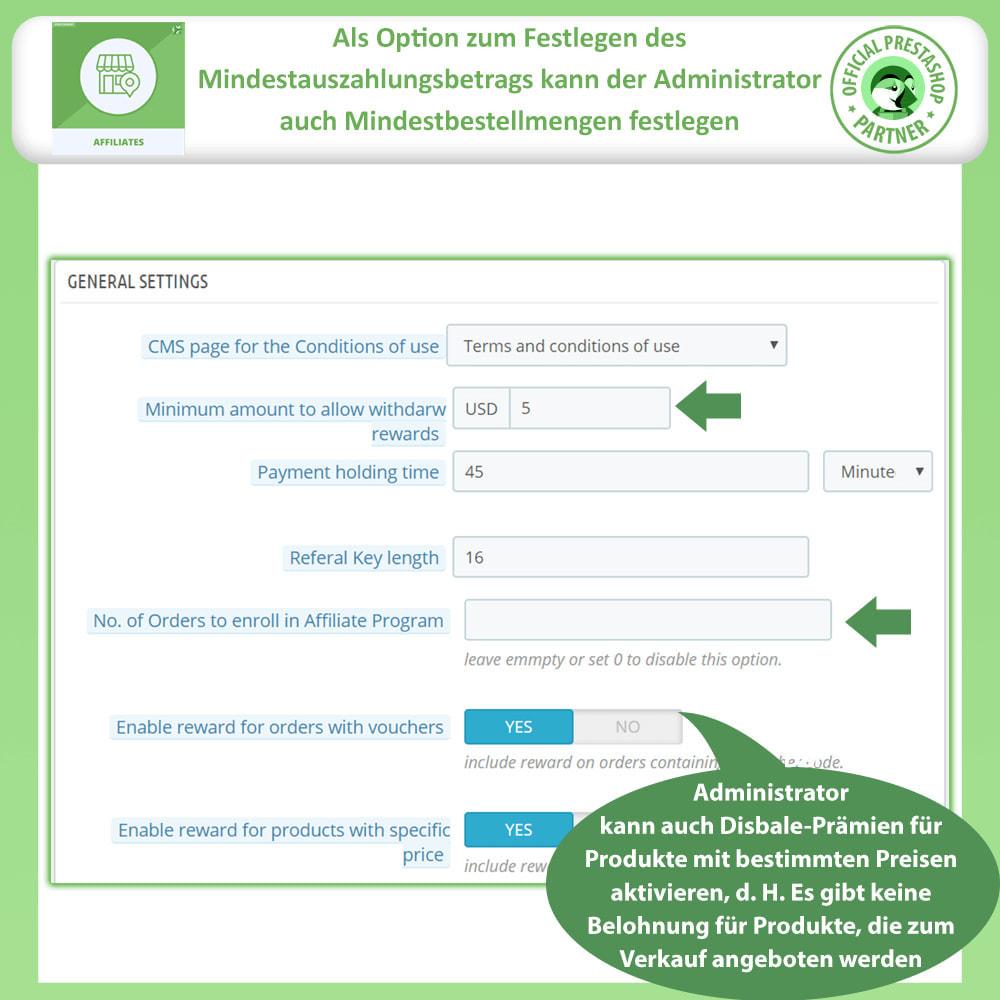 module - SEA SEM (Bezahlte Werbung) & Affiliate Plattformen - Affiliates Pro, Partner- und Empfehlungsprogramm - 10
