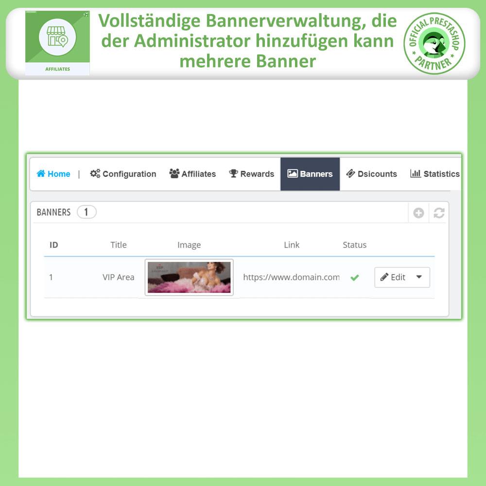 module - SEA SEM (Bezahlte Werbung) & Affiliate Plattformen - Affiliates Pro, Partner- und Empfehlungsprogramm - 21