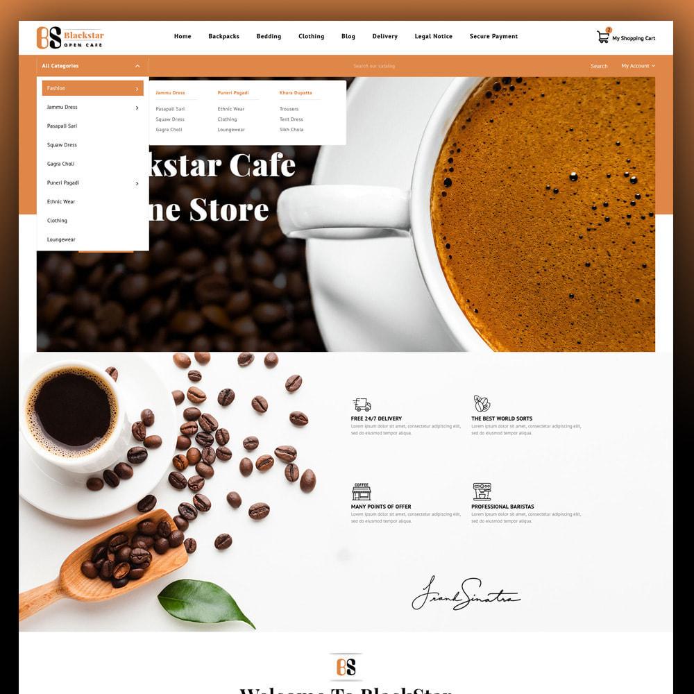 theme - Bebidas & Tabaco - Blackstar - Coffee Store - 2
