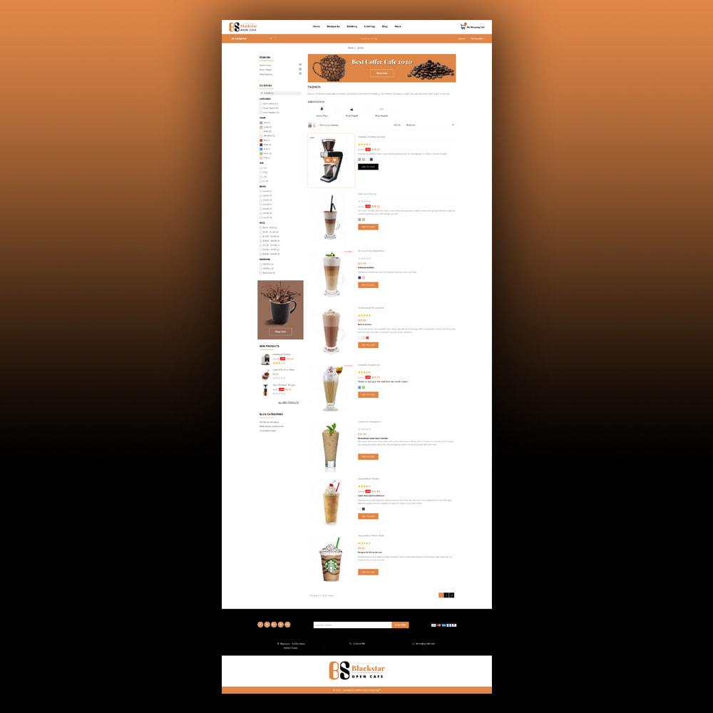 theme - Bebidas & Tabaco - Blackstar - Coffee Store - 5