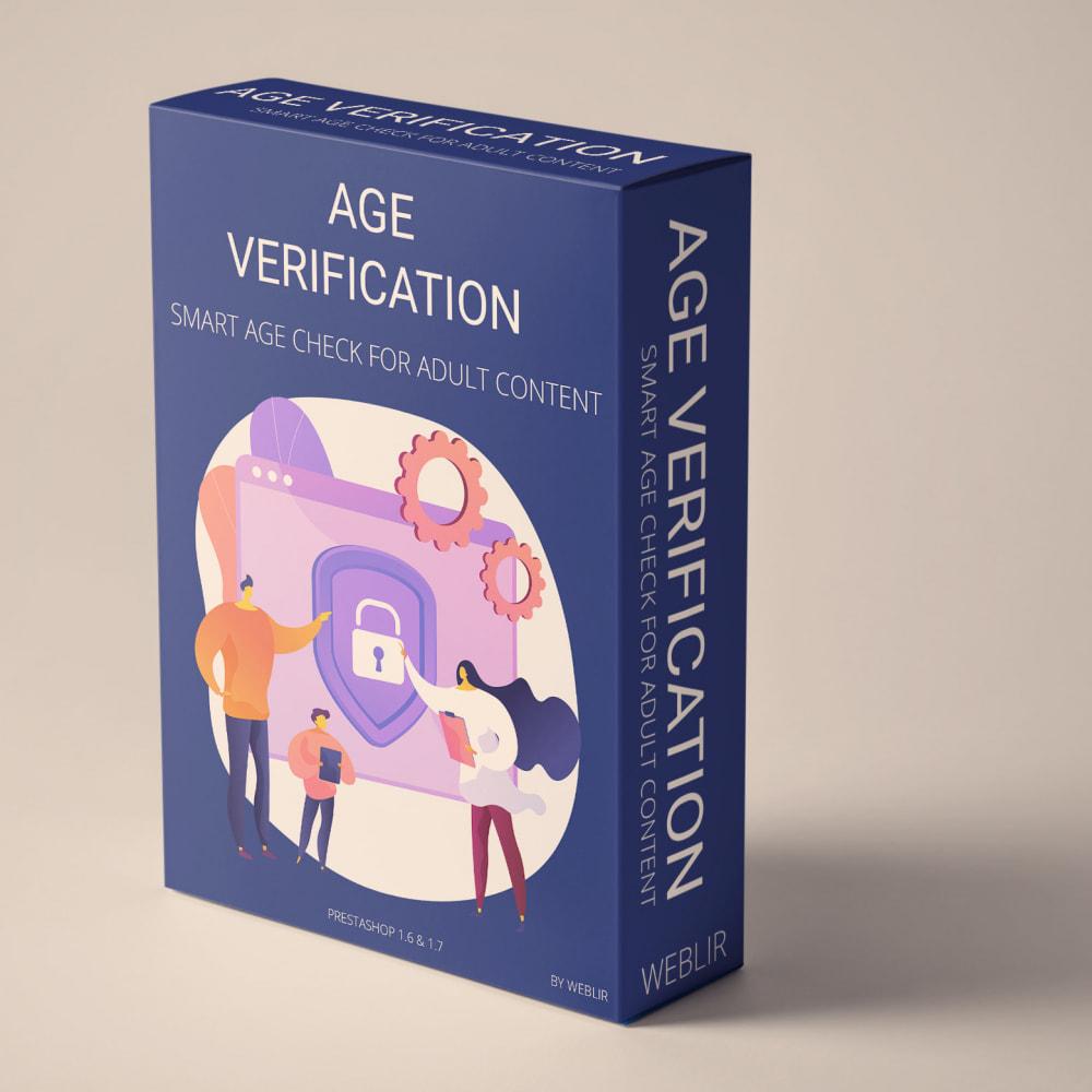 module - Bezpieczeństwa & Dostępu - Age verification - Smart age check for adult content - 1