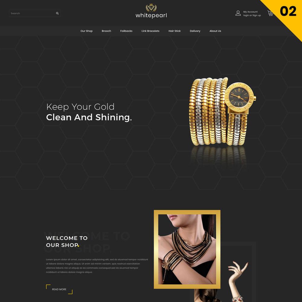theme - Bellezza & Gioielli - Whitepearl - La gioielleria - 4