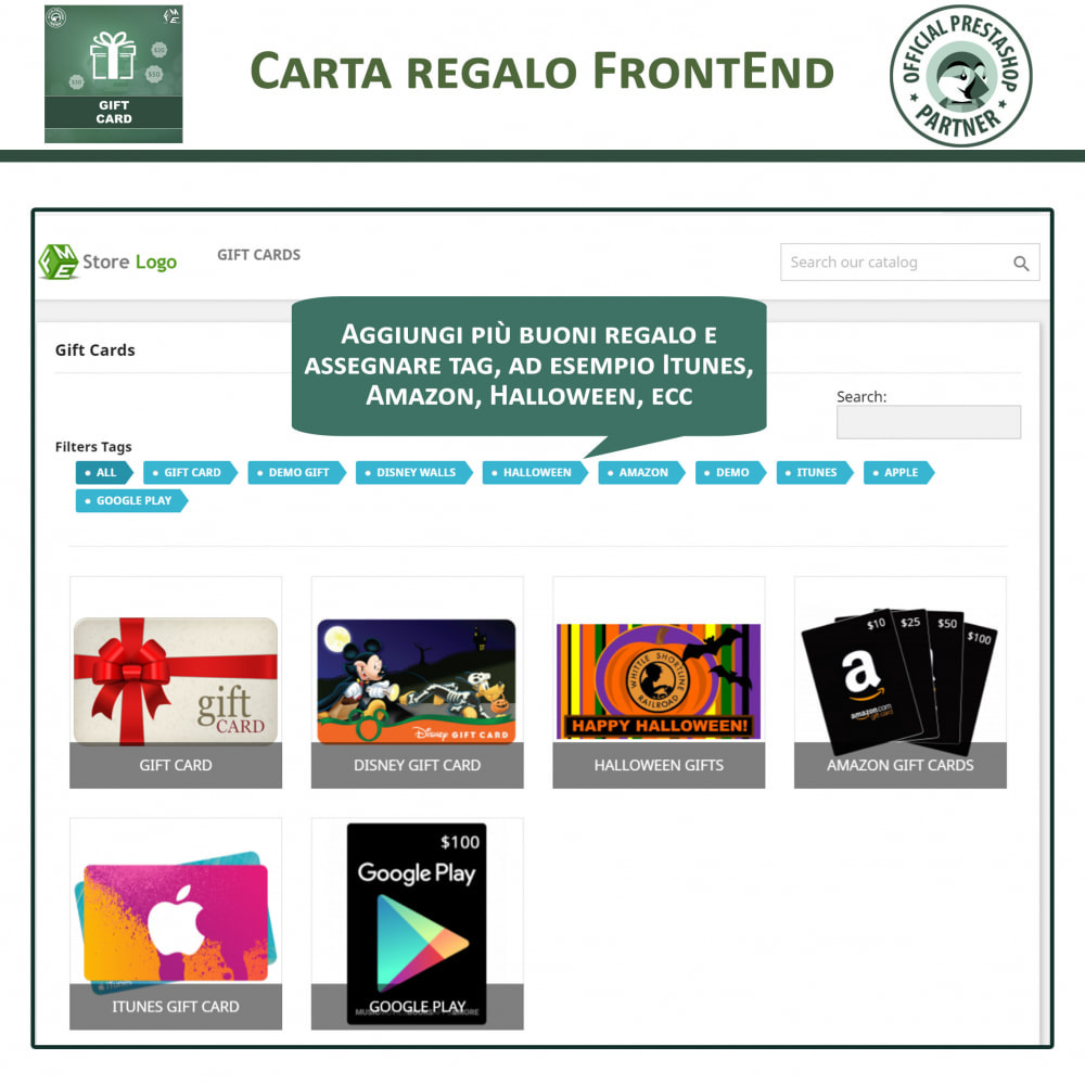 module - Whishlist & Gift Card - Carta Regalo - 2