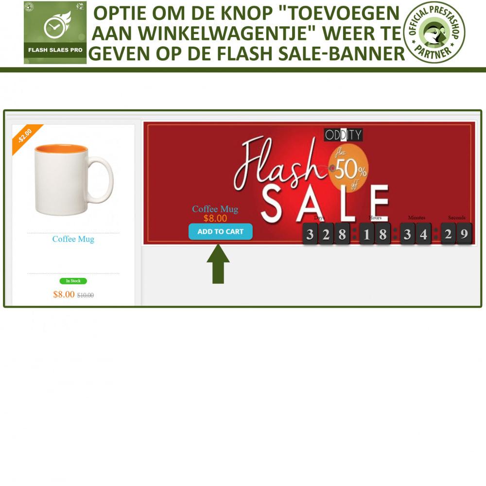 module - Uitverkoop & Besloten verkoop - Flash Sales Pro - Korting met een Aftel Timer - 8