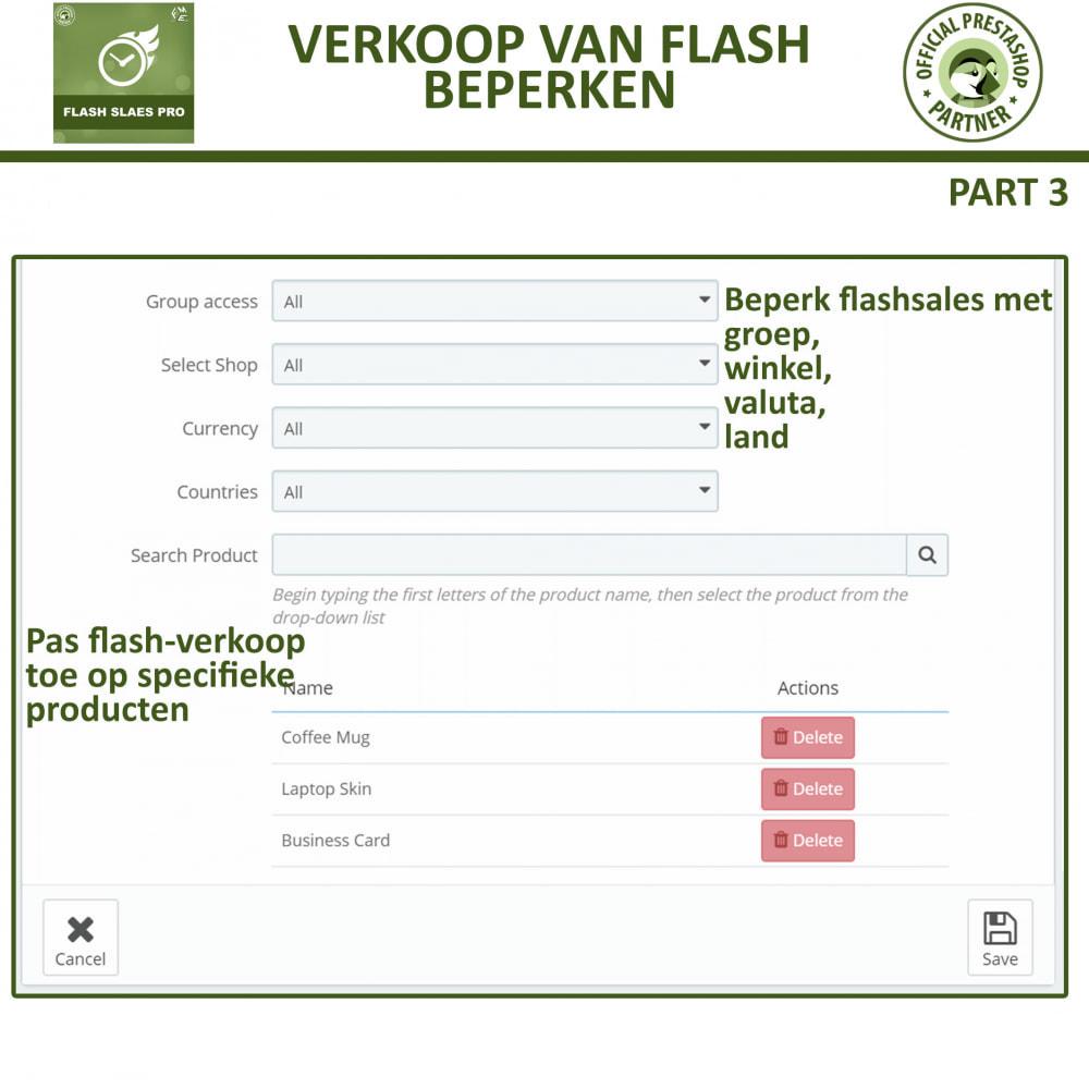module - Uitverkoop & Besloten verkoop - Flash Sales Pro - Korting met een Aftel Timer - 11