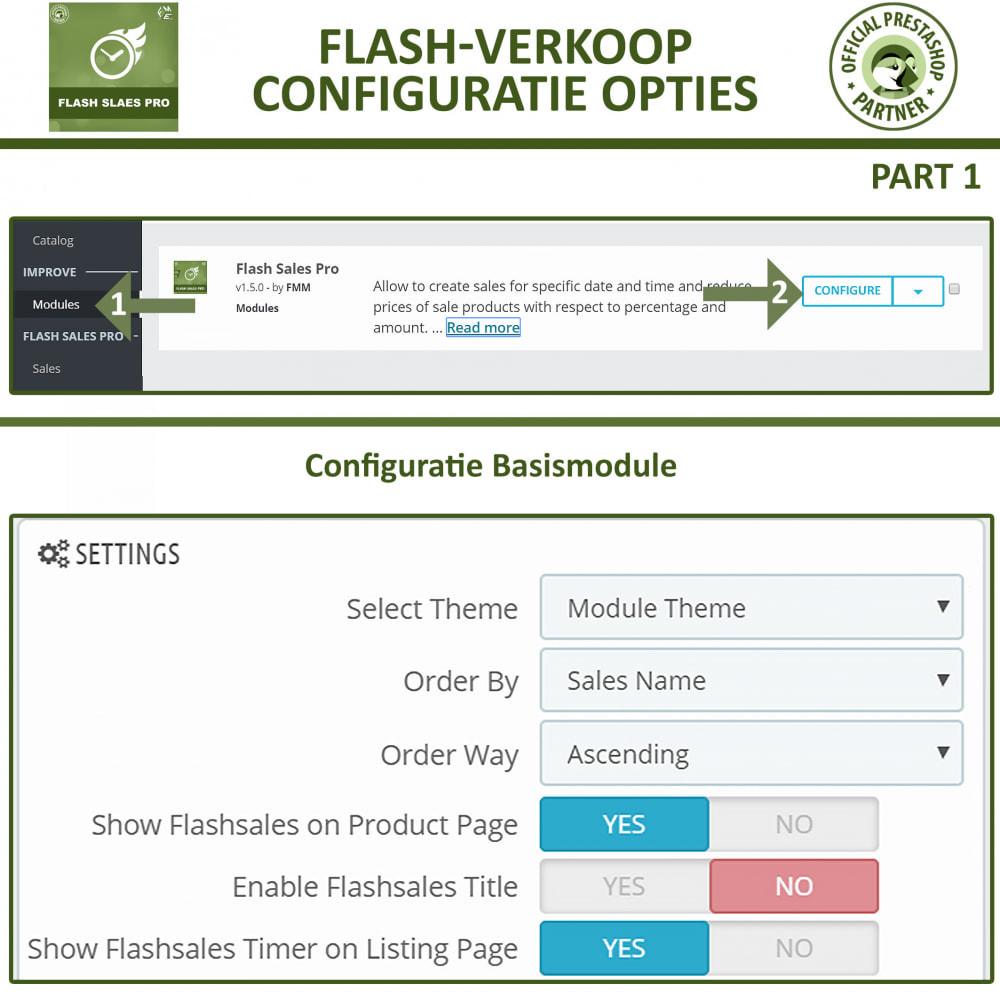 module - Uitverkoop & Besloten verkoop - Flash Sales Pro - Korting met een Aftel Timer - 14
