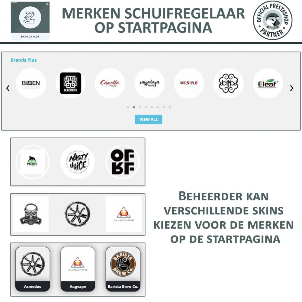 module - Merken & Fabrikanten - Brands Plus - Responsieve Carrousel - 3
