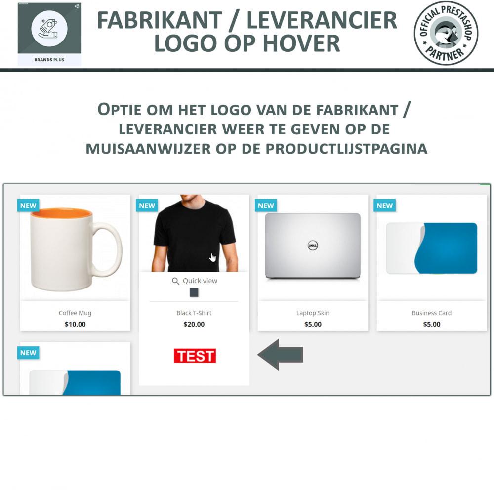 module - Merken & Fabrikanten - Brands Plus - Responsieve Carrousel - 4