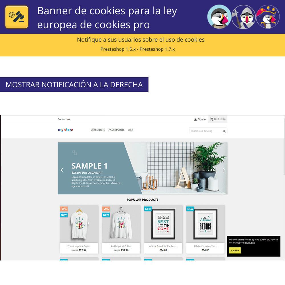 module - Marco Legal (Ley Europea) - Pro Cookie Banner Para La Ley Europea de Cookies - 3