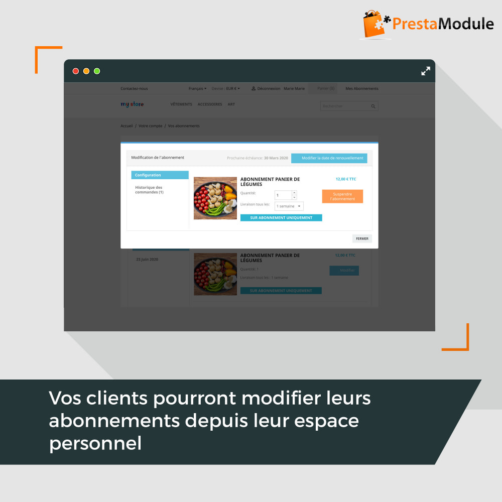 module - Abonnement (box) - Advanced Subscription: Abonnement & paiement récurrent - 6
