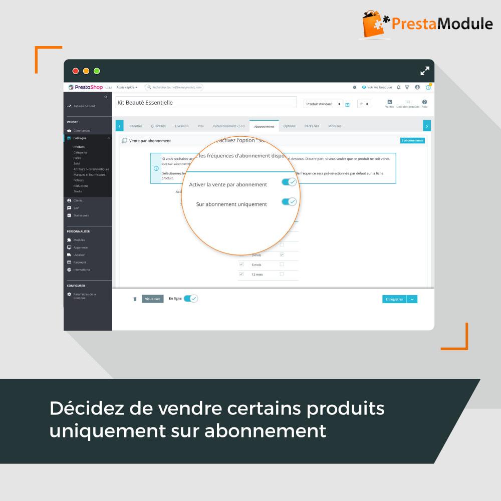 module - Abonnement (box) - Advanced Subscription: Abonnement & paiement récurrent - 10