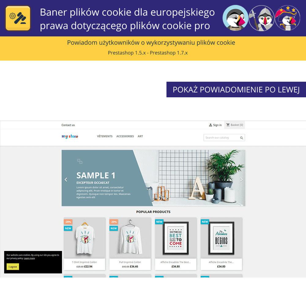 module - Wzmianki prawne - Baner plików cookie dla prawa europejskiego - 2