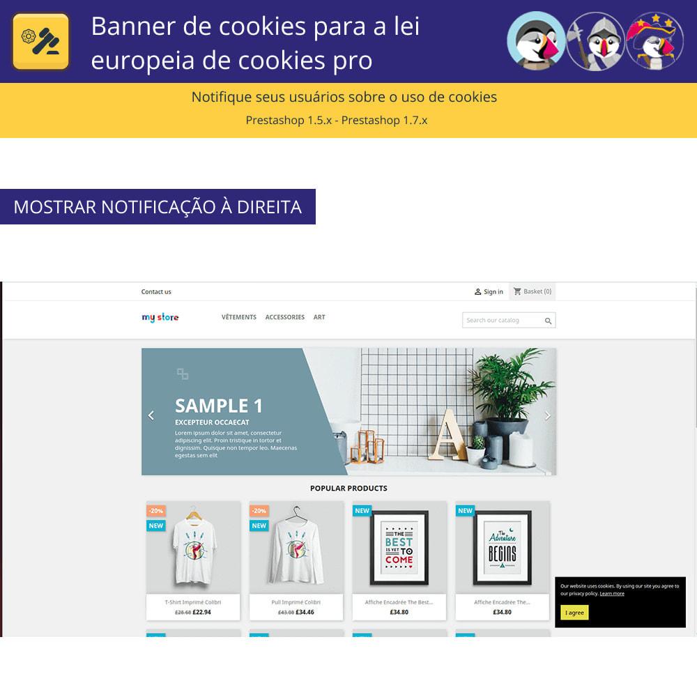 module - Jurídico - Cookies do Banner Pro para regras europeias de cookies - 3