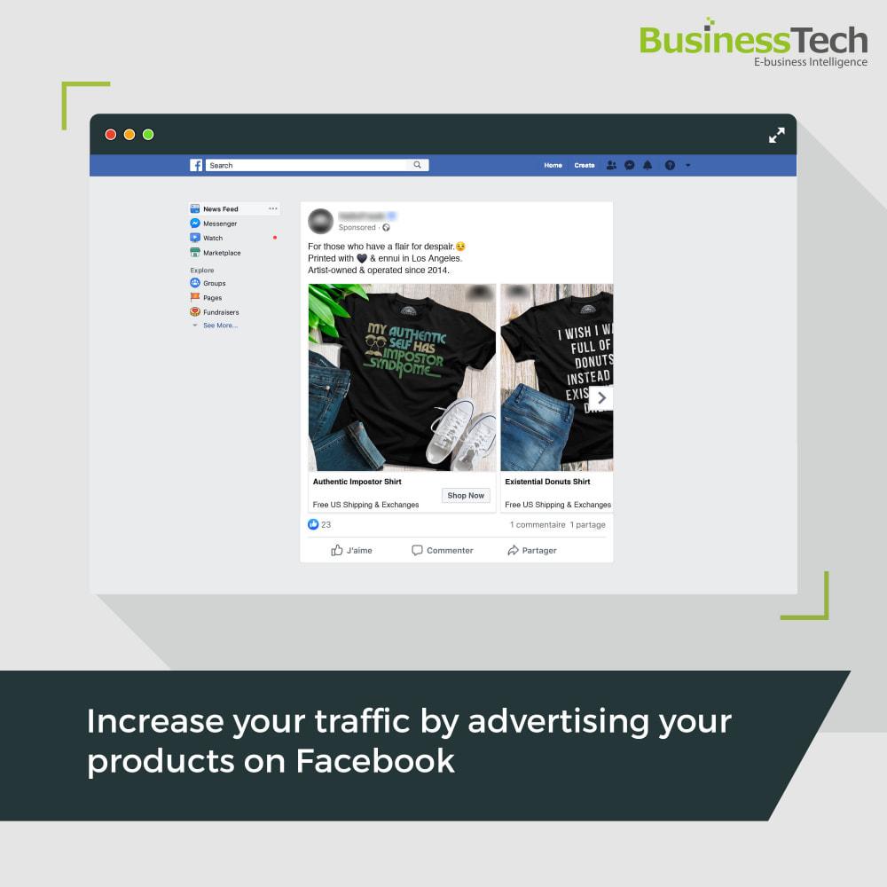 module - Produkty w serwisach społecznościowych - Facebook Dynamic Ads + Pixel & Shops - 1