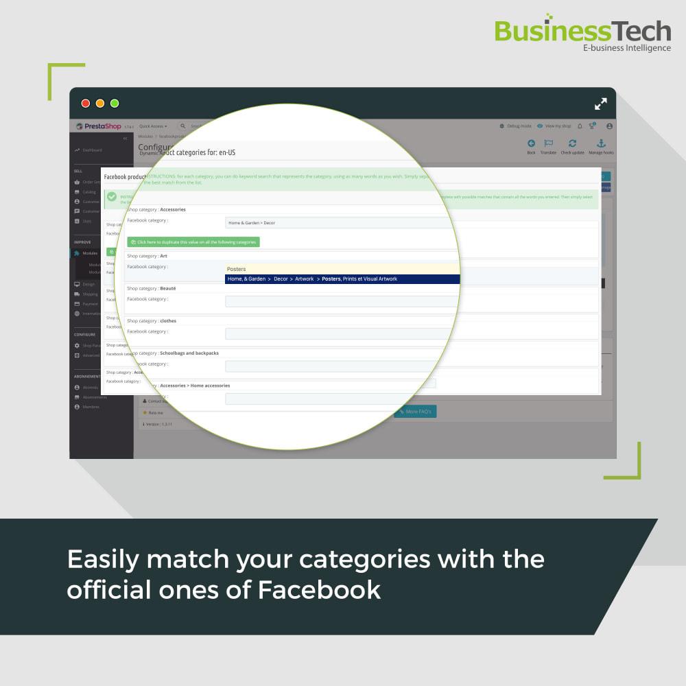 module - Produkty w serwisach społecznościowych - Facebook Dynamic Ads + Pixel & Shops - 7